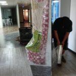 新竹就業中心展覽佈置物品進場南港展覽館