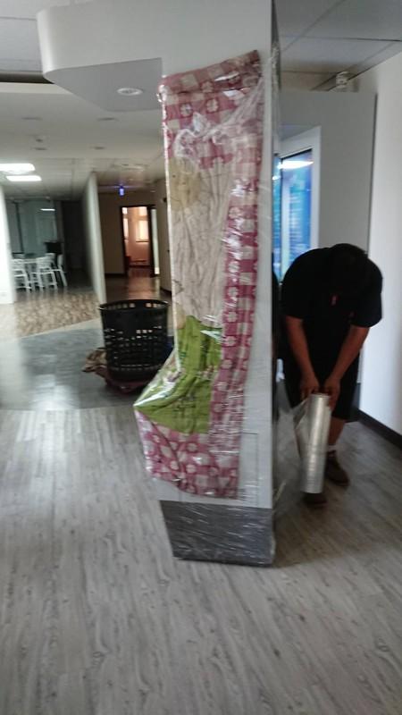 新竹台北市搬家案例.新竹就業中心展覽佈置物品進場南港展覽1
