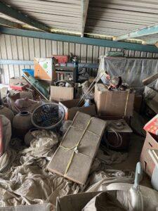 桃園市龜山區搬家案例.清運廢棄物,鐵皮屋共2層,三台車次1