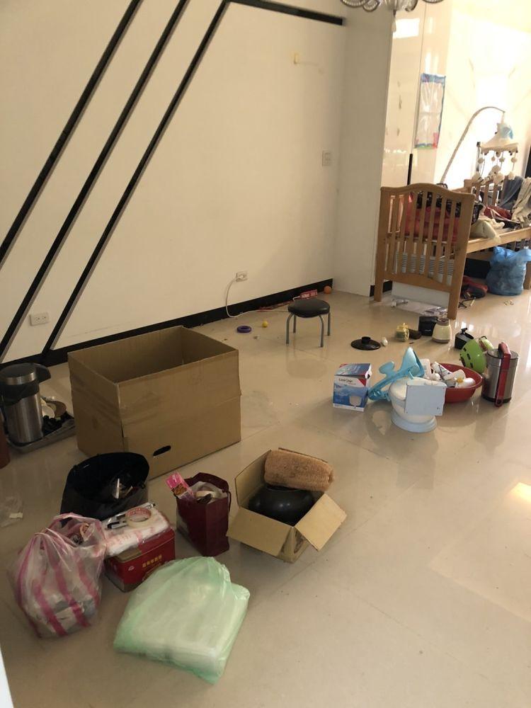 桃園市平鎮區搬家案例.家庭垃圾清運5